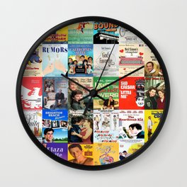 Neil Simon Plays Wall Clock