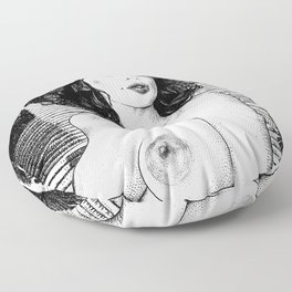 asc 345 - La muse secrète de Monsieur HTL (Mr. HTL's secret muse Floor Pillow