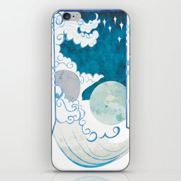 Muse of Astronomy iPhone Skin