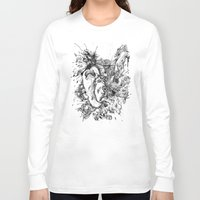 panic at the disco Long Sleeve T-shirts featuring panic by Maethawee Chiraphong