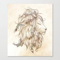 Poetic Lion Canvas Print