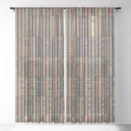 Keep Reading Sheer Curtain