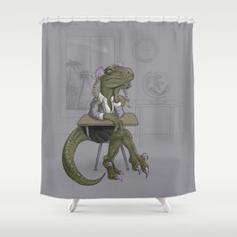 Clever Gurl Shower Curtain