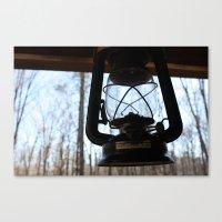 lantern Canvas Prints featuring LANTERN by MILE HIGH CREATIVE
