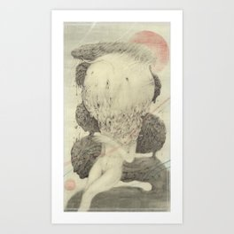A Big Mistake Art Print
