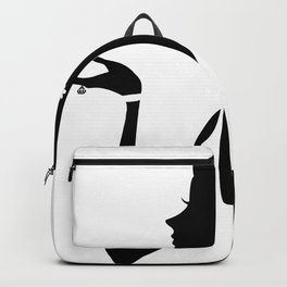 Fashion Girl Pattern Backpack
