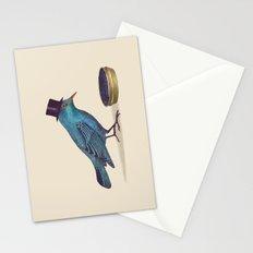 Gentlebirds Prefer Caviar  Stationery Cards