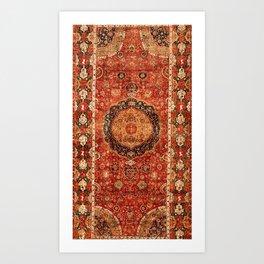 Seley 16th Century Antique Persian Carpet Print Kunstdrucke