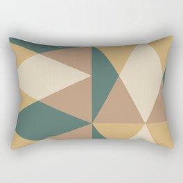Mid Century Modern Geometric Pattern 437 Rectangular Pillow