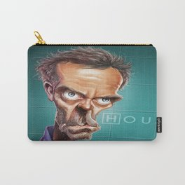 Caricature Dr House Carry-All Pouch