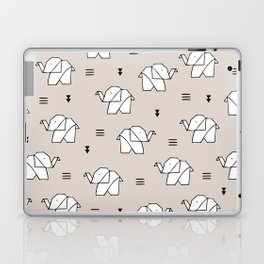 Origami elephant Laptop & iPad Skin