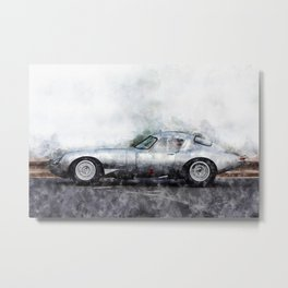 E-Type Lightweight Metal Print