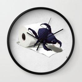 Shit Happens! (Wordless) Wall Clock