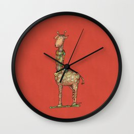 Cleo Giraffe Wall Clock