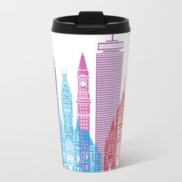 Boston V2 skyline pop Travel Mug