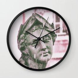 statue Lisbon Wall Clock