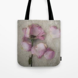 Wilted Rose Tote Bag
