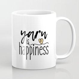 Yarn is Happiness Coffee Mug