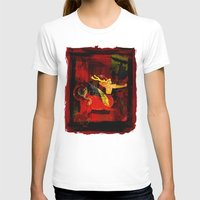 boxing T-shirts featuring Boxing Sagittarius by Genco Demirer