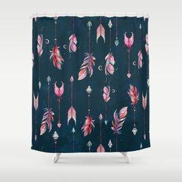 Boho Arrows Shower Curtain