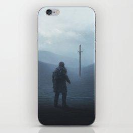 Excalibur iPhone Skin