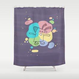 Color Dream Shower Curtain