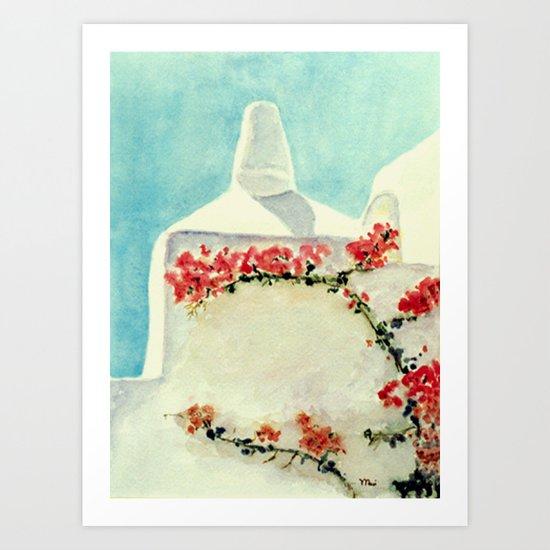 Greek Memories No.3 Art Print