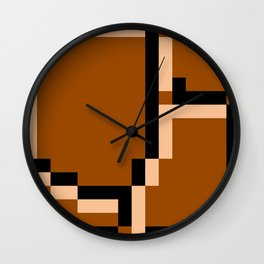 8-Bits & Pieces - Ground Wall Clock