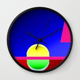 Heaven and hell ... Wall Clock