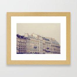 Paris Buildings  Framed Art Print