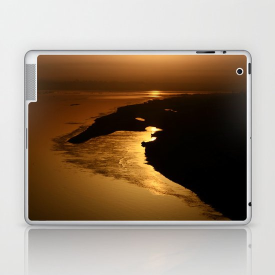 Golden Hour at the Prayag Laptop & iPad Skin