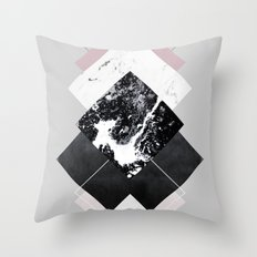 Geometric Textures 7 Throw Pillow