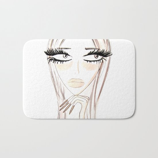 Lady Browny Bath Mat