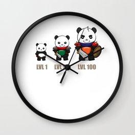 Gamer Panda Dungeon RPG Tabletop funny gift Wall Clock
