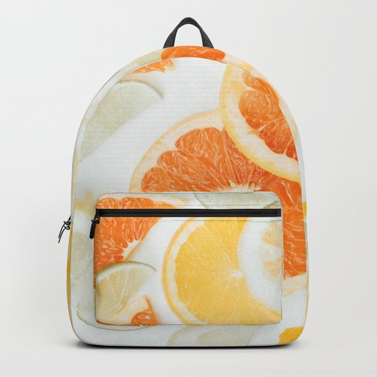 citrus fresh orange twist Backpack