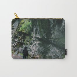 Stacked moss Carry-All Pouch