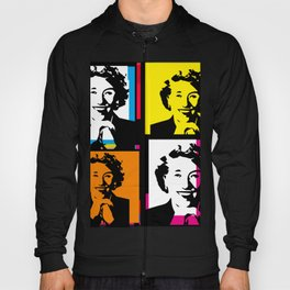 ENID BLYTON (FUNKY-COLOURED POP ART COLLAGE) Hoody
