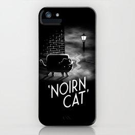 Noirn Cat iPhone Case