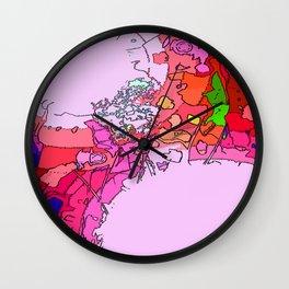 Destruction of the Rainbow (Dorothy's Lament) Wall Clock