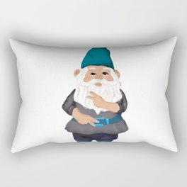 Hangin with my Gnomies - Peace Out Rectangular Pillow