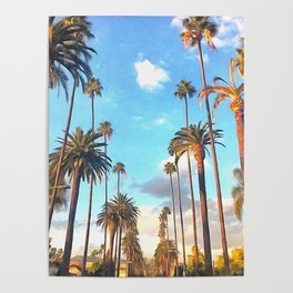 L.A. Morning Poster
