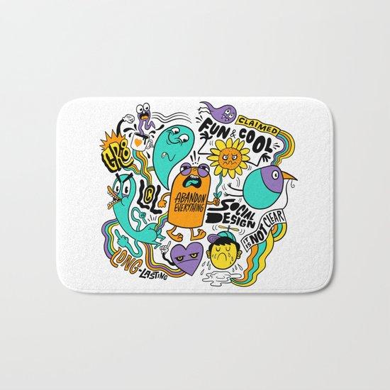 Fun & Cool Bath Mat