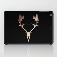 antler iPad Cases featuring Antler Forest by Mathias Design