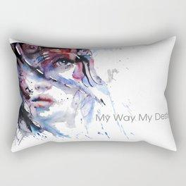 My Way My destiny Rectangular Pillow