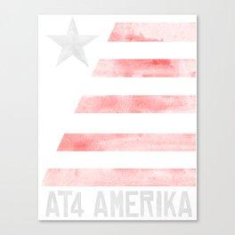 AT4 AMERIKA Canvas Print