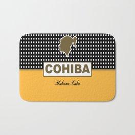 Cohiba Habana Cuba Cigar Bath Mat