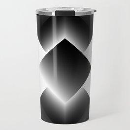 black color energy tower Travel Mug