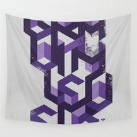 deadmau5 Wall Tapestries featuring Gravity Levels - Geometry by Sitchko Igor