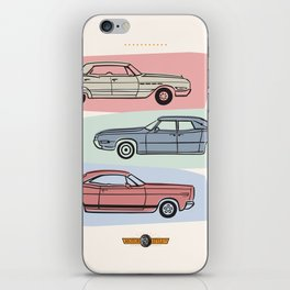 Motor Style Inc.: 60s American Heavy Metal iPhone Skin