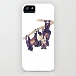 Flying Foxes iPhone Case